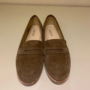 Light Brown Nine West Loafers